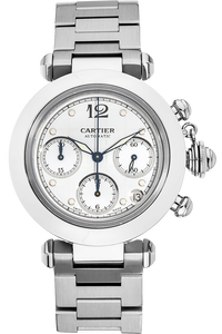 Pasha C Chronograph Stainless Steel Automatic