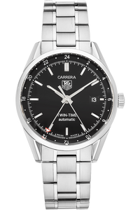 Carrera Twin Time Stainless Steel Automatic