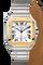 Santos de Cartier Yellow Gold & Steel, Large