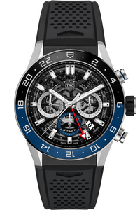 Carrera Calibre Heuer 02 Automatic Chronograph GMT