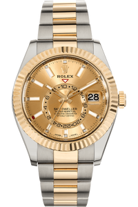 Skydweller Yellow Gold and Stainless Steel Automatic