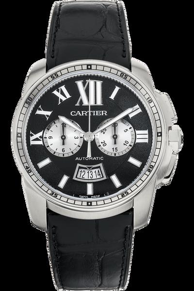 Calibre de Cartier Chronograph Stainless Steel Automatic