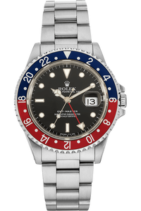 GMT-Master II Circa 1980s Stainless Steel Automatic