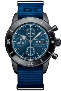 Superocean Heritage II Chronograph 44 Outerknown Blacksteel