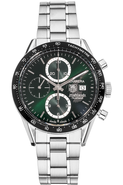 Carrera Chronograph Scotland Highlands Stainless Steel Automatic