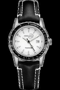 Ladies Steel White Dial Bracelet
