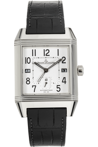 Reverso Squadra Hometime Stainless Steel Automatic