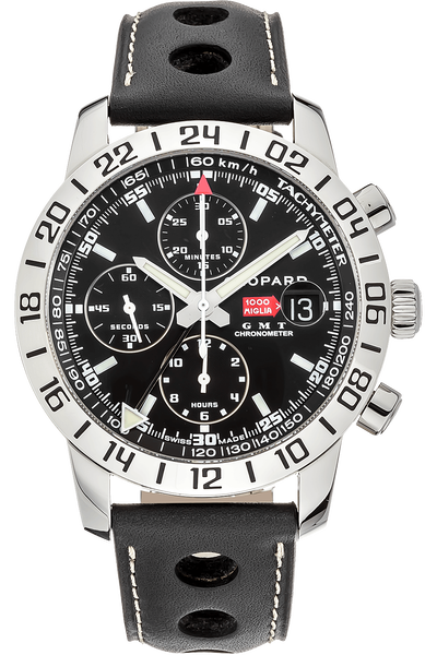 78345dacc5a03 Images. Mille Miglia GMT Chronograph Stainless Steel Automatic