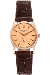 Calatrava Reference 3796 Rose Gold Manual