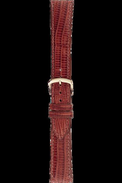 18 mm Tan Teju Lizard Strap
