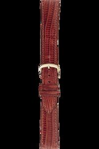 20 mm Tan Teju Lizard Strap