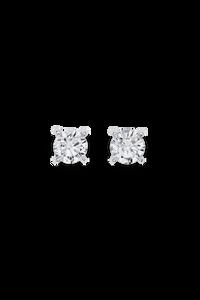 Joy Ear Pins in 18K White Gold