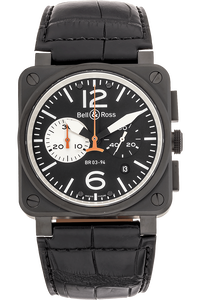 BR 03-94 Chronograph PVD Stainless Steel Automatic