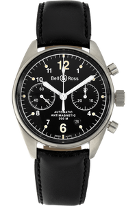 BR126 Chronograph Stainless Steel Automatic