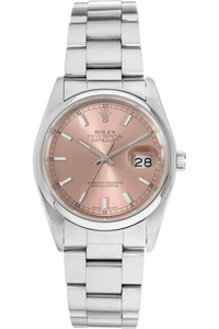 Datejust Circa 1989 Stainless Steel Automatic