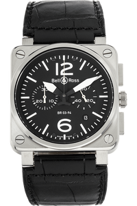 BR 03-94 Chronograph Stainless Steel Automatic