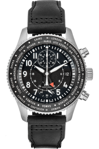 Pilot's Timezoner Chronograph Stainless Steel Automatic