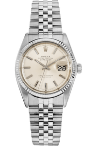 Datejust Circa 1970 White Gold and Stainless Steel Automatic