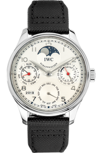 Portuguese Perpetual Calendar  Stainless Steel Automatic