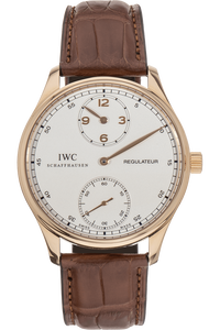 Portuguese Regulateur Rose Gold Manual