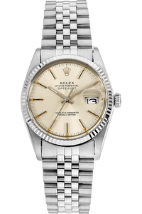 Datejust Circa 1970's White Gold and Stainless Steel Automatic