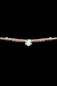 Peekaboo Necklace in 18K Rose Gold
