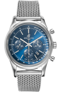 Transocean Chronograph Limited Edition Stainless Steel Automatic