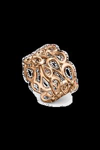 Lacrima Ring in 18K Rose Gold