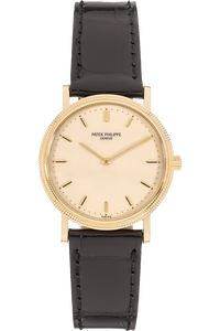 Calatrava Reference 3992 Yellow Gold Automatic