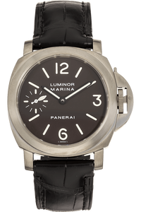 Luminor Marina Titanium Manual