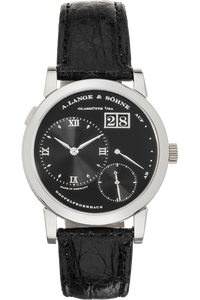 Lange 1 Platinum Manual