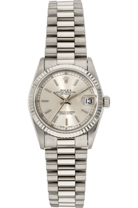 Datejust Circa 1987 White Gold Automatic