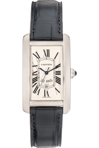 "Tank Americaine ""20 ANS"" White Gold Automatic"