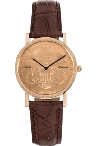Twenty Dollar Coin Rose Gold Automatic
