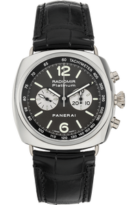 Radiomir Chronograph Wempe Special Edition Platinum Manual