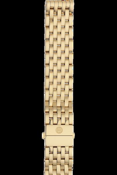 18MM Deco Gold Bracelet