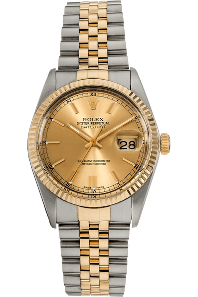Datejust Circa 1976 Yellow Gold and Stainless Steel Automatic