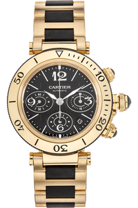 Pasha Seatimer Chronograph Yellow Gold Automatic