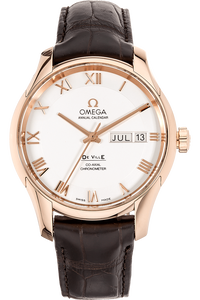 De Ville Co-Axial Annual Calendar Rose Gold Automatic
