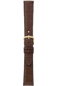 20 mm Chestnut Alligator Strap