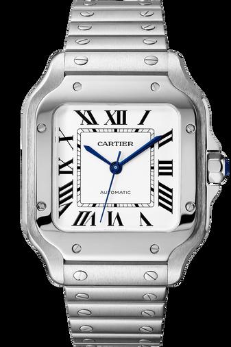 Santos de Cartier Steel, Medium