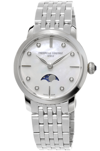 Slimline Ladies Moonphase Quartz