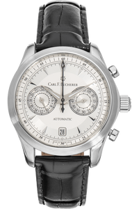 Manero Central Chrono Stainless Steel Automatic
