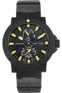 Maxi Marine Diver Black Sea PVD Stainless Steel Automatic