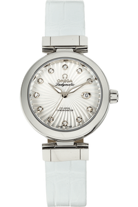 De Ville Ladymatic Co-Axial  Stainless Steel Automatic