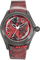 Bubble Red Python PVD Black and Stainless Steel Automatic