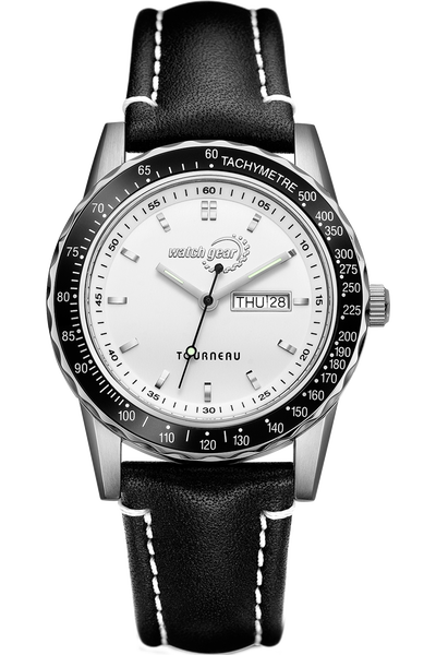 Men's Steel Tachymeter Strap - Tourneau