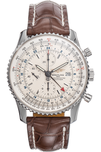 Navitimer World Stainless Steel Automatic