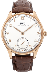 Portuguese Hand Wound Rose Gold Manual