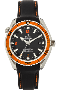 391835c90a17 Pre-Owned Omega. Seamaster Planet Ocean Co-Axial Stainless Steel Automatic